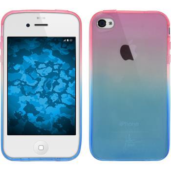 Silikon Hülle iPhone 4S Ombrè Design:06