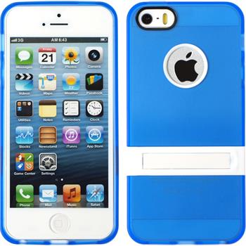 Silikon Hülle iPhone 5 / 5s / SE  blau