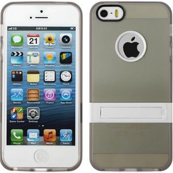 Silikon Hülle iPhone 5 / 5s / SE  grau