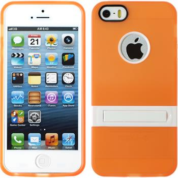 Silicone Case for Apple iPhone 5 / 5s  orange