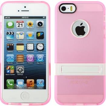 Silikon Hülle iPhone 5 / 5s / SE  rosa