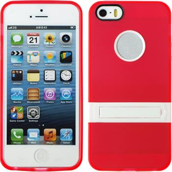 Silicone Case for Apple iPhone 5 / 5s  red