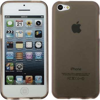 Silikonhülle für Apple iPhone 5c matt grau