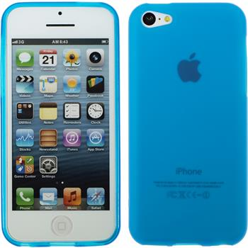 Silicone Case for Apple iPhone 5c matt light blue