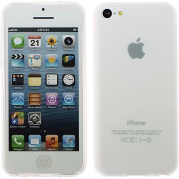 Silicone Case for Apple iPhone 5c matt white
