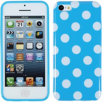 Silikon Hülle iPhone 5c Polkadot Design:08