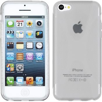 Silikon Hülle iPhone 5c X-Style grau