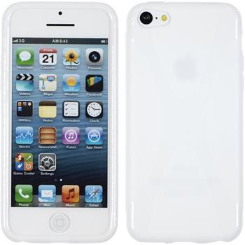 Silikon Hülle iPhone 5c X-Style weiß