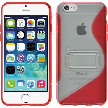 Silikonhülle für Apple iPhone 6s / 6  rot