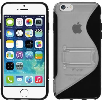 Silikon Hülle iPhone 6s / 6  schwarz