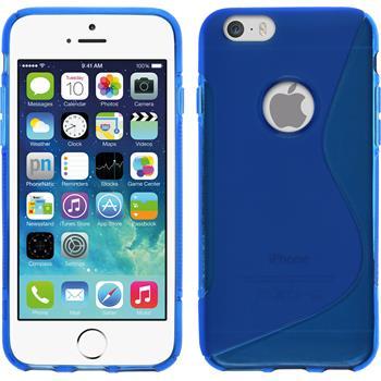 Silikon Hülle iPhone 6s / 6 S-Style blau