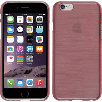 Silikon Hülle iPhone 6s / 6 brushed rosa