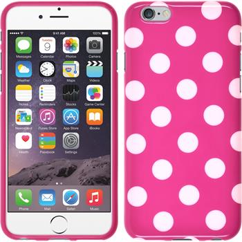 Silikon Hülle iPhone 6s / 6 Polkadot Design:03