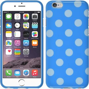 Silikon Hülle iPhone 6s / 6 Polkadot Design:08