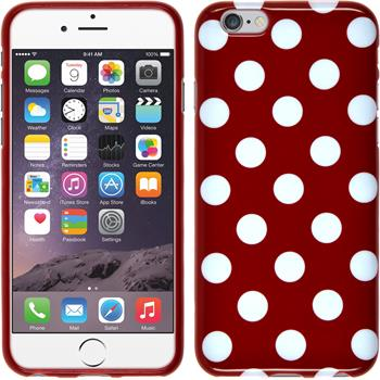 Silicone Case for Apple iPhone 6 Polkadot Design:09
