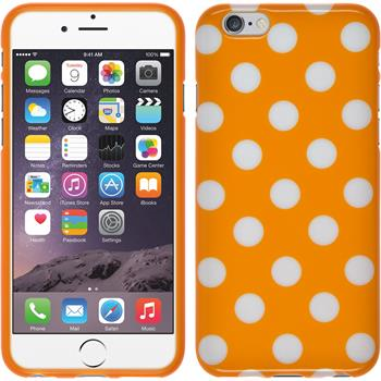 Silicone Case for Apple iPhone 6 Polkadot Design:10