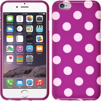 Silikon Hülle iPhone 6s / 6 Polkadot Design:11