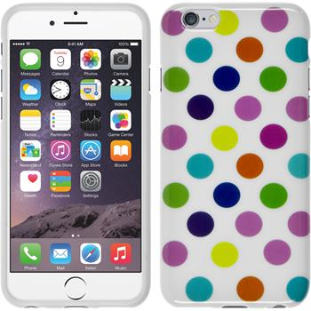 Silikon Hülle iPhone 6s / 6 Polkadot Design:12
