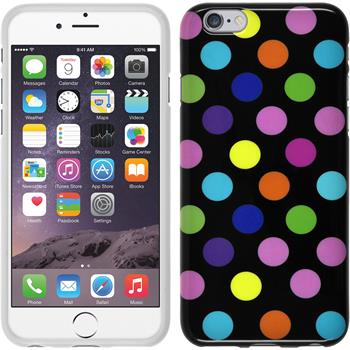 Silikon Hülle iPhone 6s / 6 Polkadot Design:13