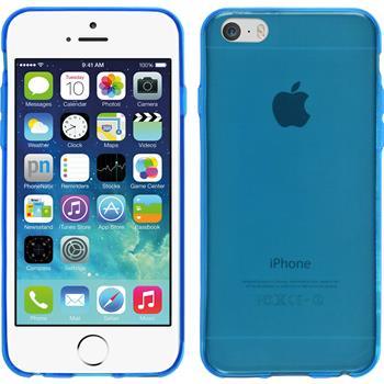 Silikon Hülle iPhone 6s / 6 Slimcase blau