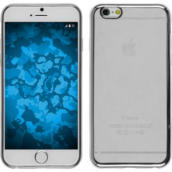 Silikon Hülle iPhone 6s / 6 Slim Fit silber