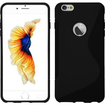 Silikon Hülle iPhone 6 Plus / 6s Plus S-Style  + 2 Schutzfolien