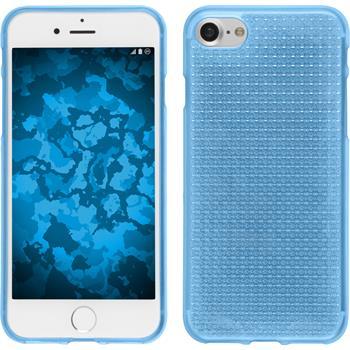 Silikon Hülle iPhone 7 Iced hellblau