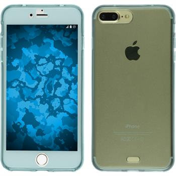 Silikonhülle für Apple iPhone 7 Plus 360° Fullbody hellblau