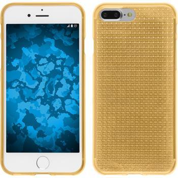 Silikonhülle für Apple iPhone 7 Plus Iced gold