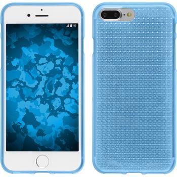 Silikonhülle für Apple iPhone 7 Plus Iced hellblau