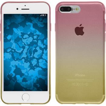 Silikon Hülle iPhone 7 Plus Ombrè Design:01