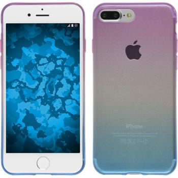 Silikon Hülle iPhone 7 Plus Ombrè Design:04