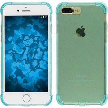 Silikon Hülle iPhone 7 Plus Shock-Proof blau