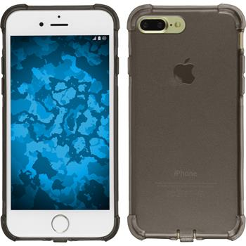 Silikon Hülle iPhone 7 Plus Shock-Proof grau