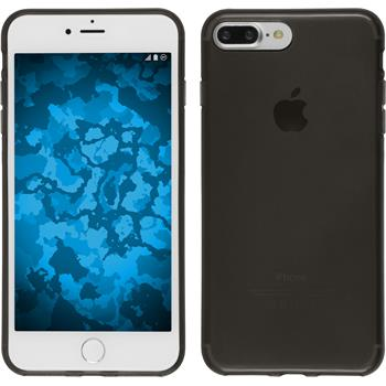Silikonhülle für Apple iPhone 7 Plus transparent schwarz