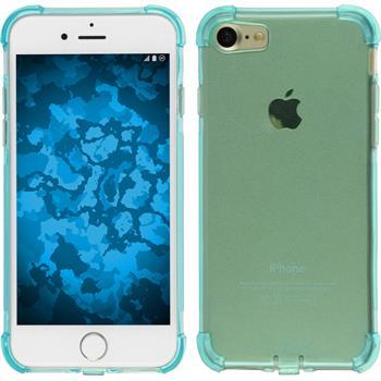 Silikon Hülle iPhone 7 Shock-Proof blau