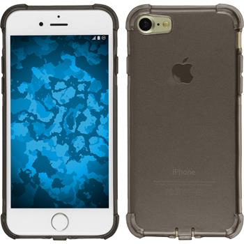 Silikonhülle für Apple iPhone 7 Shock-Proof grau