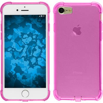 Silikon Hülle iPhone 7 Shock-Proof rosa