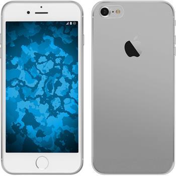 Silikon Hülle iPhone 7 / 8 Slimcase clear + 2 Schutzfolien