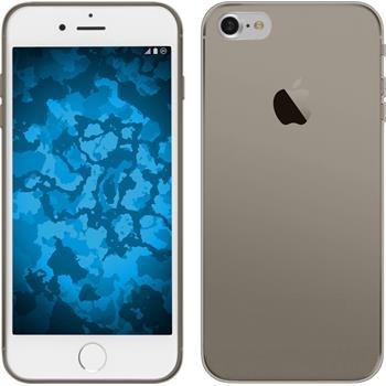 Silikon Hülle iPhone 7 Slimcase grau