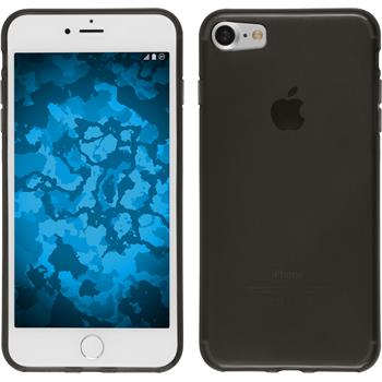 Silikon Hülle iPhone 7 transparent schwarz