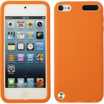 Silicone Case for Apple iPod 5 matt orange