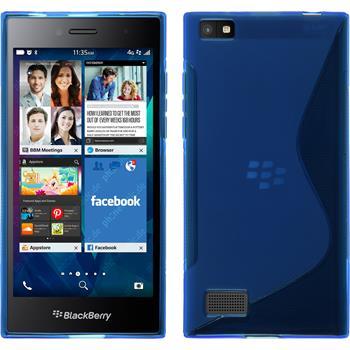 Silikon Hülle Leap S-Style blau
