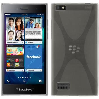 Silikonhülle für BlackBerry Leap X-Style clear