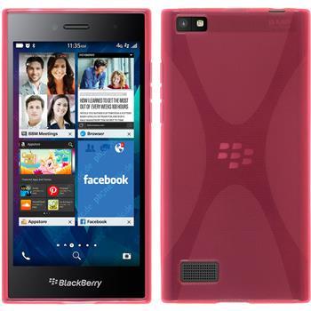 Silikonhülle für BlackBerry Leap X-Style pink