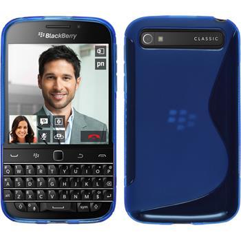Silikon Hülle Q20 S-Style blau