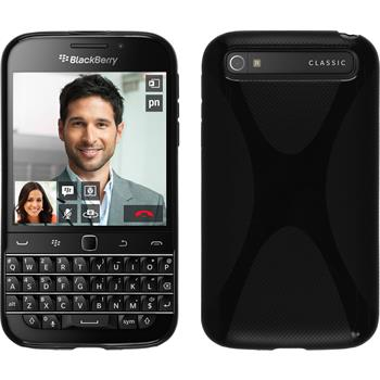 Silikon Hülle Q20 X-Style schwarz