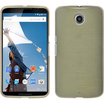Silikon Hülle Nexus 6 brushed gold