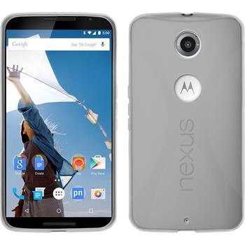 Silikon Hülle Nexus 6 X-Style clear