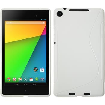 Silicone Case for Google Nexus 7 2013 S-Style white